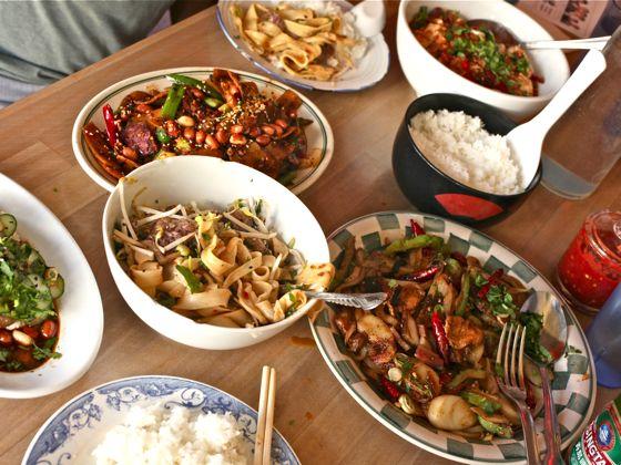 Den riktiga kinesiska maten är fantastisk!