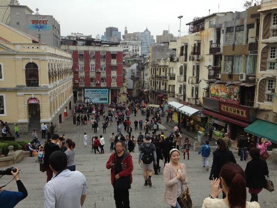 Gamla stan i Macau