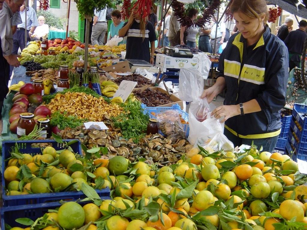 Marknaden i Sineu